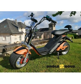 Azur Scooter Ride 50 CS1 Couleur:Orange